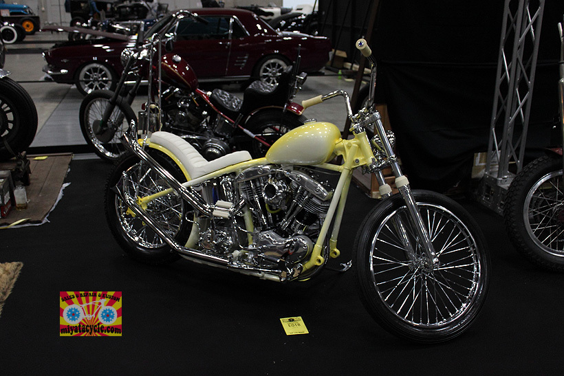 『 26th YOKOHAMA HOT ROD CUSTOM SHOW 』エントリーのモーターサイクル 2_e0126901_10581928.jpg