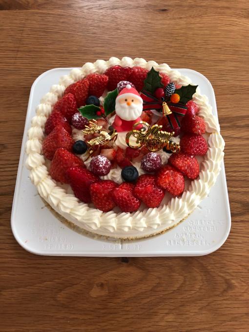 クリスマスケーキ。_b0135325_14251761.jpg