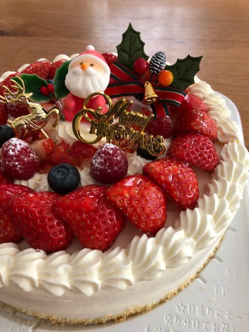 クリスマスケーキ。_b0135325_14264844.jpg