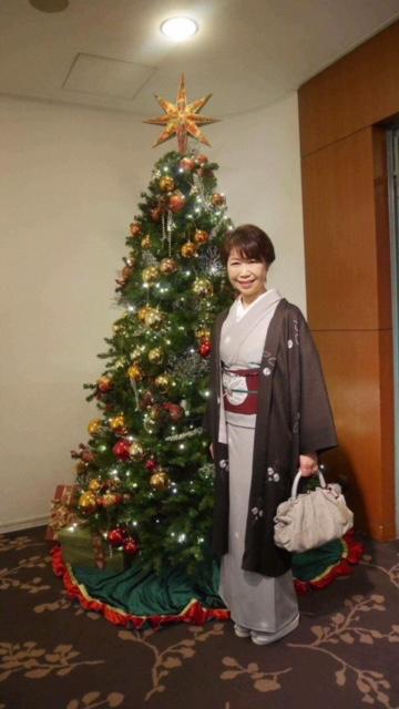 クリスマス会最終・多津子さまコーディネイト・還暦サンタ登場_f0181251_1626486.jpg
