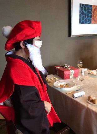 クリスマス会最終・多津子さまコーディネイト・還暦サンタ登場_f0181251_16414062.jpg