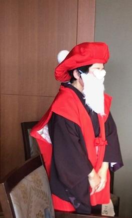 クリスマス会最終・多津子さまコーディネイト・還暦サンタ登場_f0181251_1641546.jpg