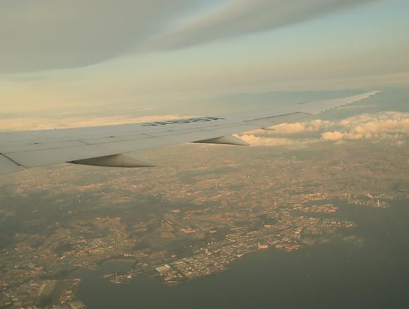 NH985便 機窓より 2017年11月_d0202264_3485134.jpg