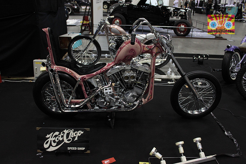 『 26th YOKOHAMA HOT ROD CUSTOM SHOW 』エントリーのモーターサイクル 3_e0126901_11091556.jpg