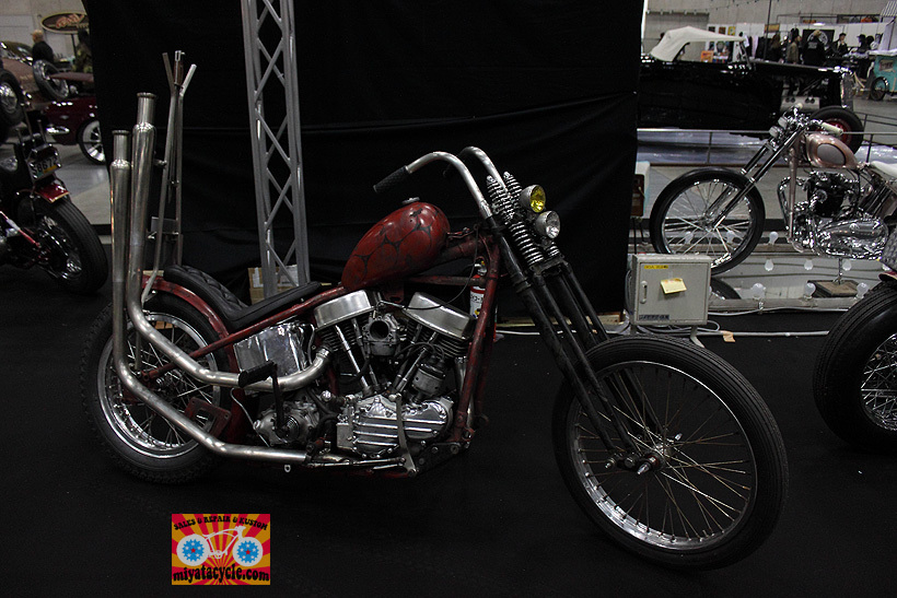『 26th YOKOHAMA HOT ROD CUSTOM SHOW 』エントリーのモーターサイクル 3_e0126901_11092124.jpg