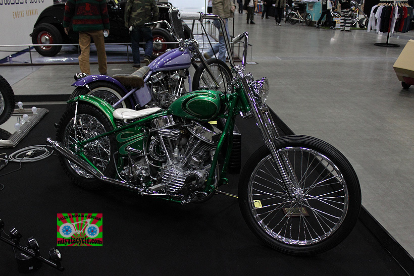 『 26th YOKOHAMA HOT ROD CUSTOM SHOW 』エントリーのモーターサイクル 3_e0126901_11092437.jpg