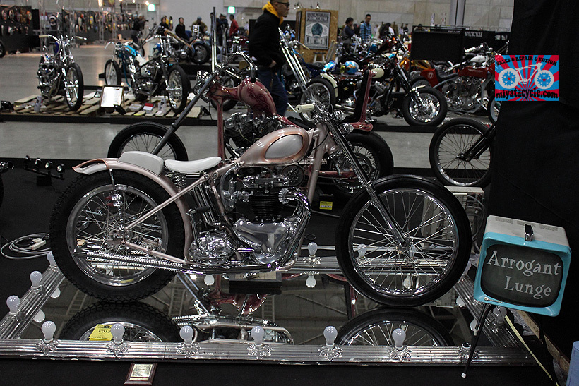 『 26th YOKOHAMA HOT ROD CUSTOM SHOW 』エントリーのモーターサイクル 3_e0126901_11093297.jpg