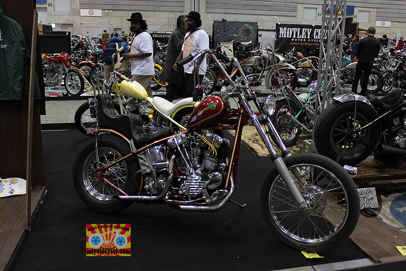 『 26th YOKOHAMA HOT ROD CUSTOM SHOW 』エントリーのモーターサイクル 3_e0126901_11094112.jpg