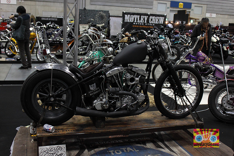 『 26th YOKOHAMA HOT ROD CUSTOM SHOW 』エントリーのモーターサイクル 3_e0126901_11094508.jpg