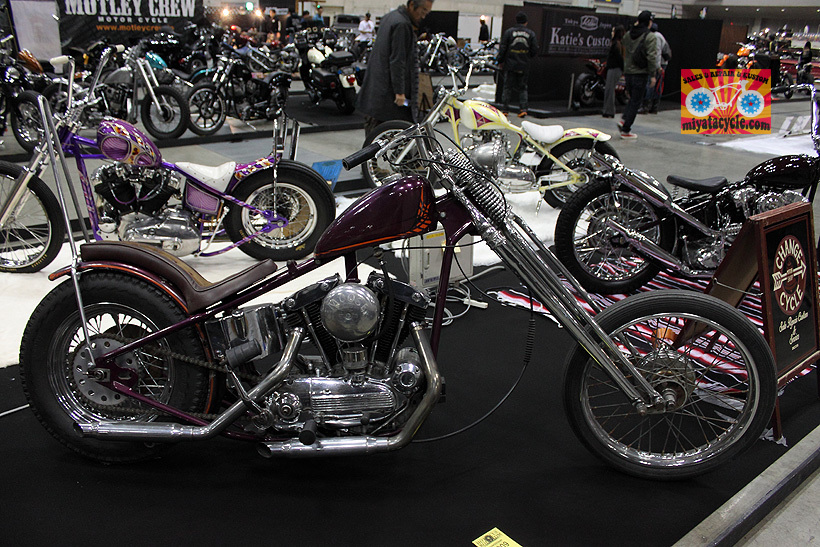 『 26th YOKOHAMA HOT ROD CUSTOM SHOW 』エントリーのモーターサイクル 3_e0126901_11094862.jpg