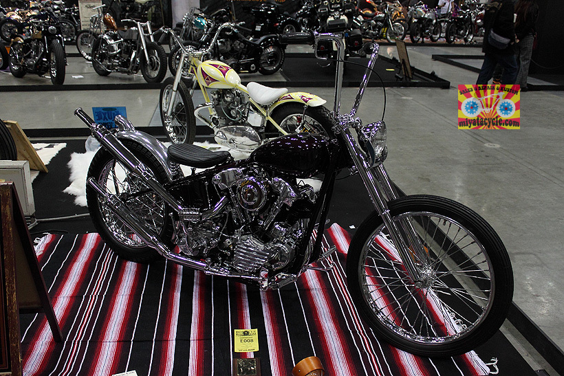 『 26th YOKOHAMA HOT ROD CUSTOM SHOW 』エントリーのモーターサイクル 3_e0126901_11095254.jpg