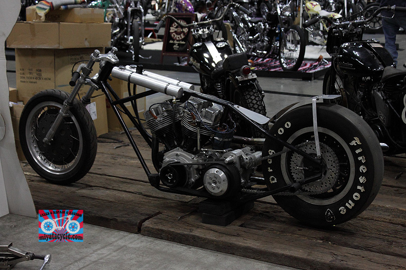 『 26th YOKOHAMA HOT ROD CUSTOM SHOW 』エントリーのモーターサイクル 3_e0126901_11100976.jpg