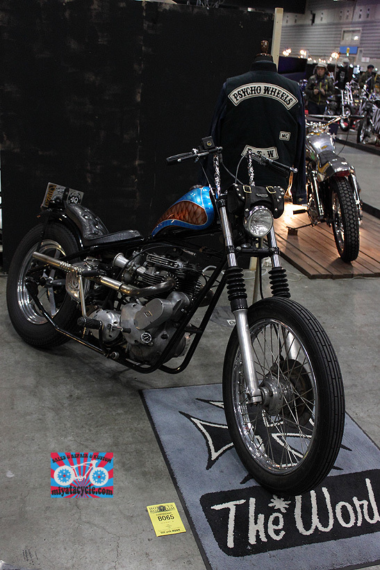 『 26th YOKOHAMA HOT ROD CUSTOM SHOW 』エントリーのモーターサイクル 3_e0126901_11110614.jpg