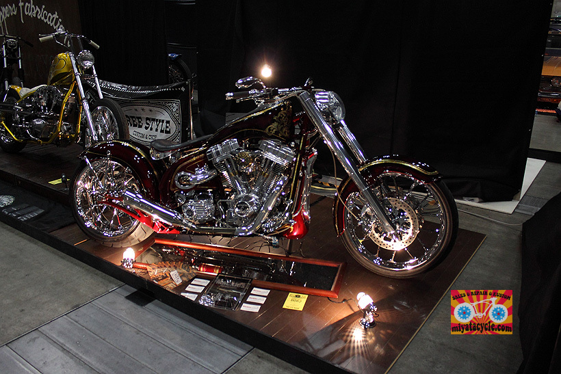 『 26th YOKOHAMA HOT ROD CUSTOM SHOW 』エントリーのモーターサイクル 3_e0126901_11111020.jpg