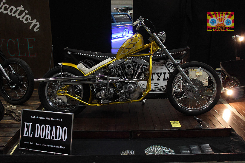 『 26th YOKOHAMA HOT ROD CUSTOM SHOW 』エントリーのモーターサイクル 3_e0126901_11111902.jpg