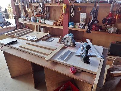兼業農家の週末は木工工作でした_c0336902_13340206.jpg