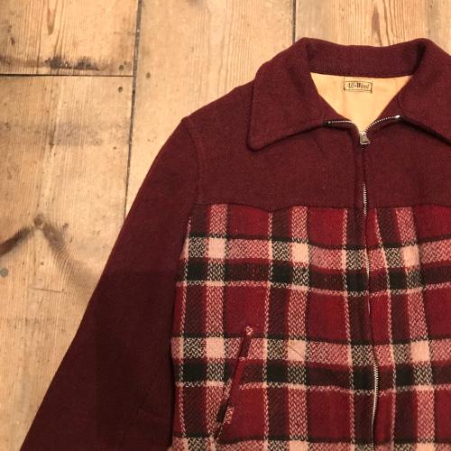 1930\'s Vintag All Wool Sports JKT_a0182112_16052230.jpg