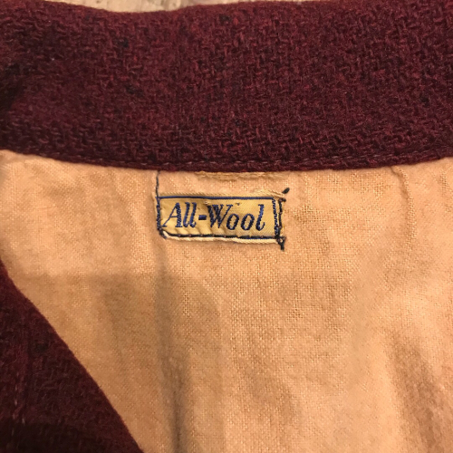 1930\'s Vintag All Wool Sports JKT_a0182112_16053139.jpg