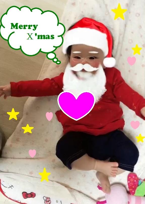 メリークリスマス~♪_b0170834_17413240.jpg