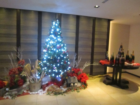 雨のクリスマス_b0177436_22284020.jpg