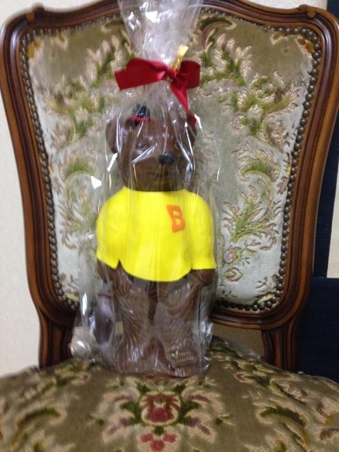 ショコラ ブティク レクラのチョコレートベアのクリスマス_c0185356_18332750.jpg