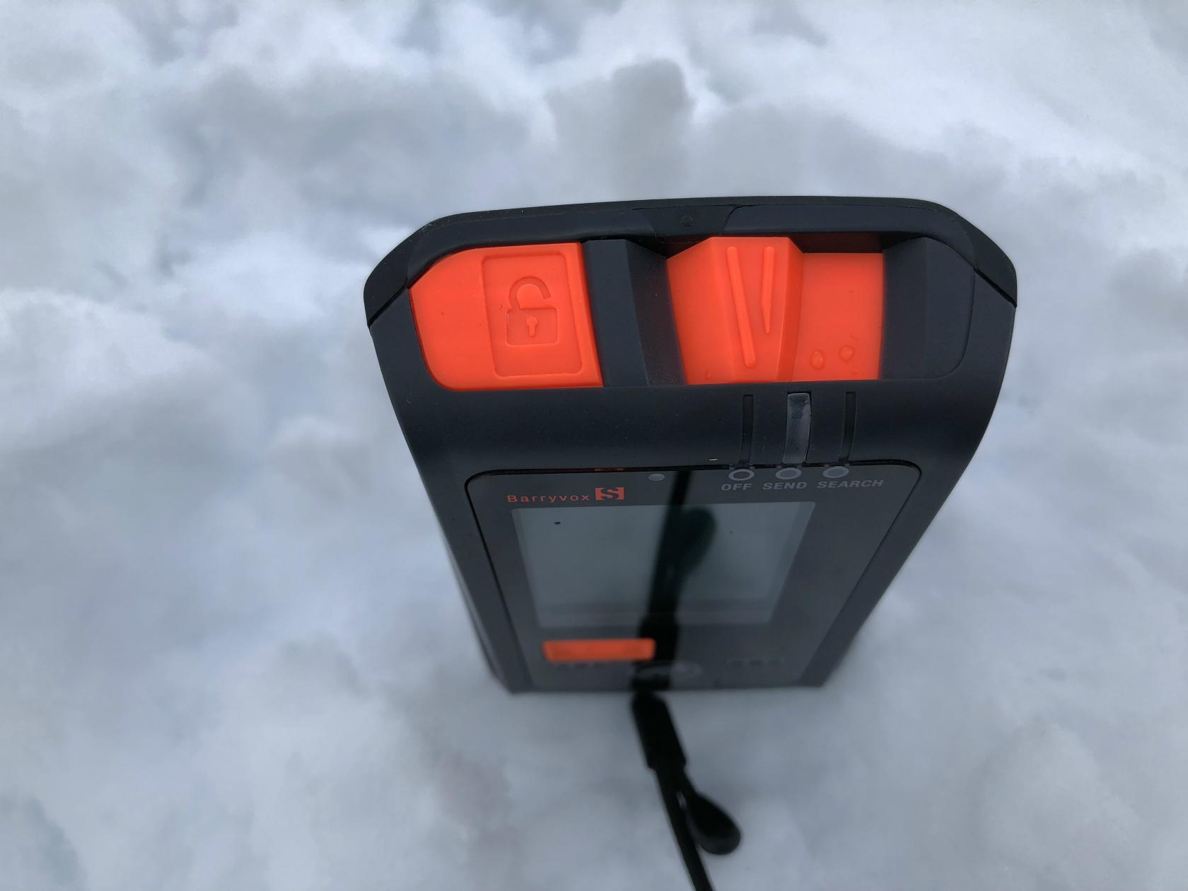 新型雪崩トランシーバ「Barryvox S」_d0110562_14500948.jpg