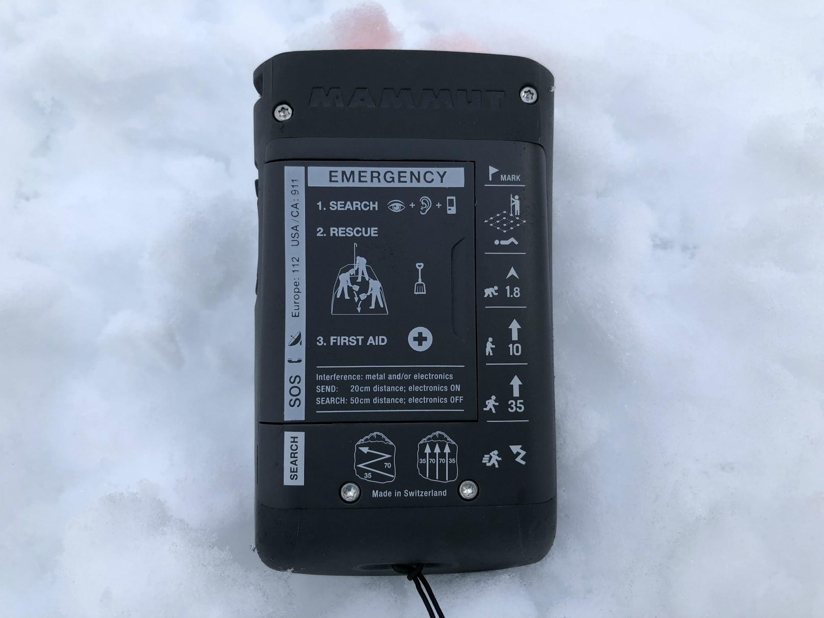新型雪崩トランシーバ「Barryvox S」_d0110562_14501813.jpg