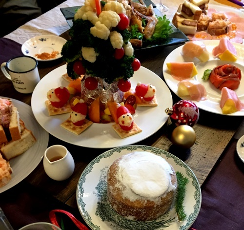 Finetecと呉竹顔彩耽美☆ビジネスライティングのクリスマスカード_b0165872_20004455.jpg
