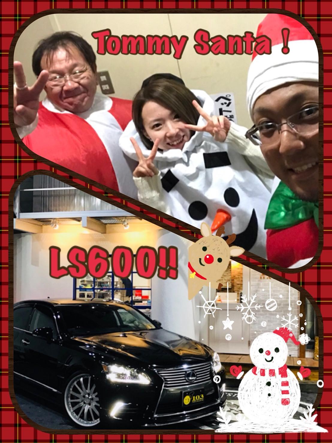 12月27日(水)トミーベース カスタムブログ☆LS600撮影開始!!サンタは大忙し!_b0127002_22473093.jpg