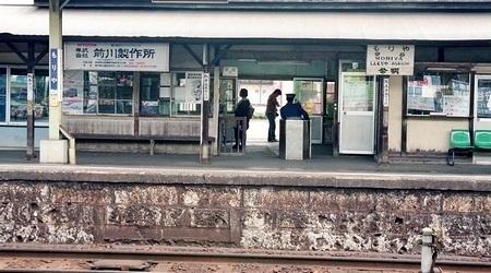 関東鉄道常総線 守谷駅  (改築前)_e0030537_21130031.jpg