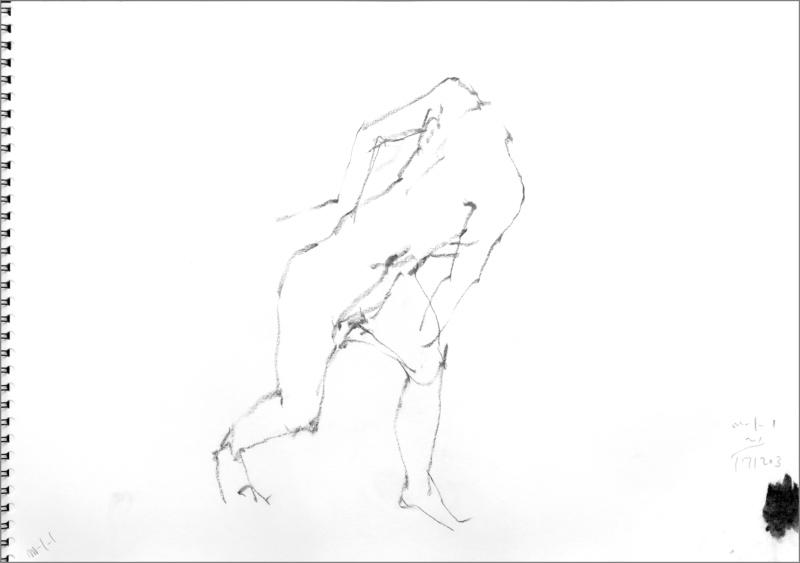 《 師走十二月の ― croquis・drawing・dessin・sketch・esquisse ― 10》_f0159856_20221504.jpg