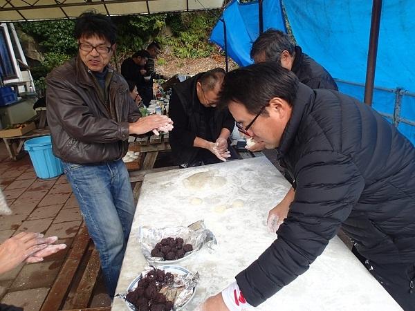 つばきマリーナの餅つき会🎵_a0077071_16481907.jpg