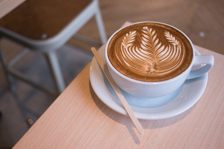 芸術的なcafe latte_d0353489_19175172.jpg
