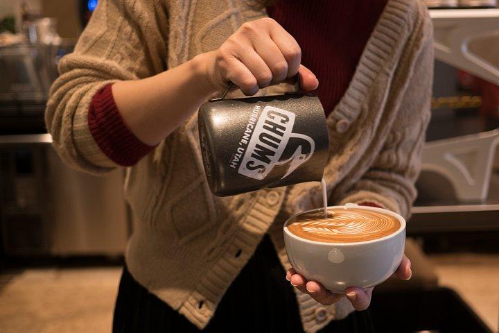 芸術的なcafe latte_d0353489_19192679.jpg