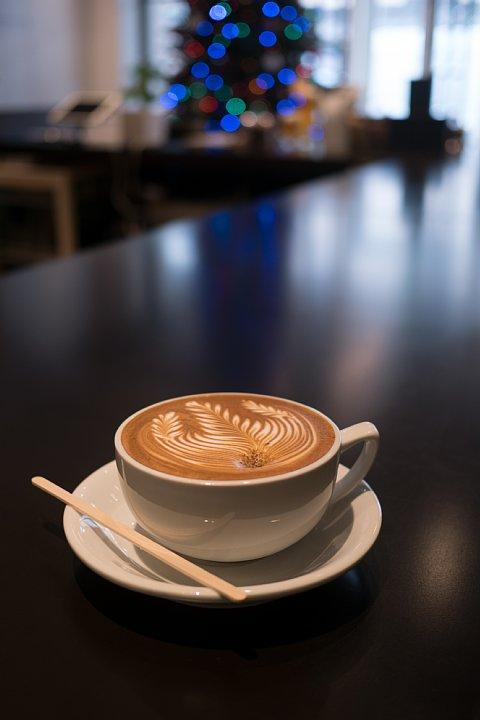 芸術的なcafe latte_d0353489_19194525.jpg