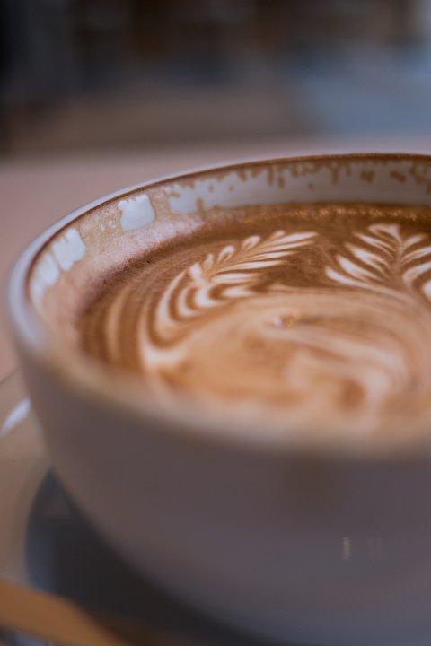 芸術的なcafe latte_d0353489_19532083.jpg