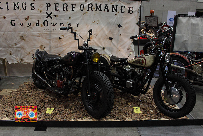 『 26th YOKOHAMA HOT ROD CUSTOM SHOW 』エントリーのモーターサイクル 4_e0126901_13385951.jpg