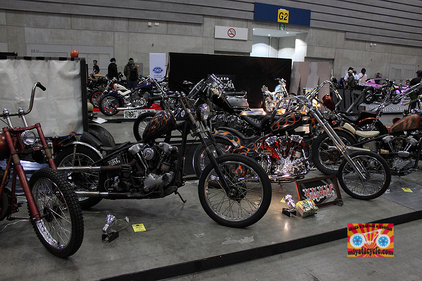 『 26th YOKOHAMA HOT ROD CUSTOM SHOW 』エントリーのモーターサイクル 4_e0126901_13390709.jpg