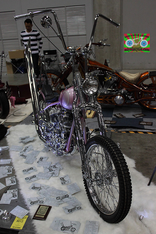 『 26th YOKOHAMA HOT ROD CUSTOM SHOW 』エントリーのモーターサイクル 4_e0126901_13403058.jpg