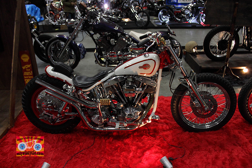 『 26th YOKOHAMA HOT ROD CUSTOM SHOW 』エントリーのモーターサイクル 4_e0126901_13405330.jpg