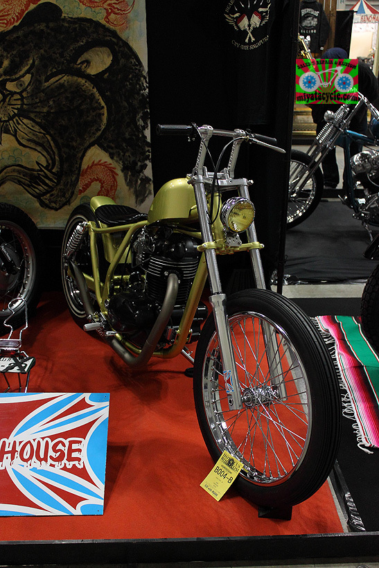 『 26th YOKOHAMA HOT ROD CUSTOM SHOW 』エントリーのモーターサイクル 4_e0126901_13411300.jpg