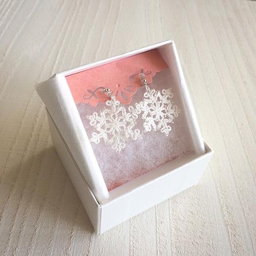 クリスマスプレゼントに雪の結晶が届きました☆_f0089355_00010260.jpg