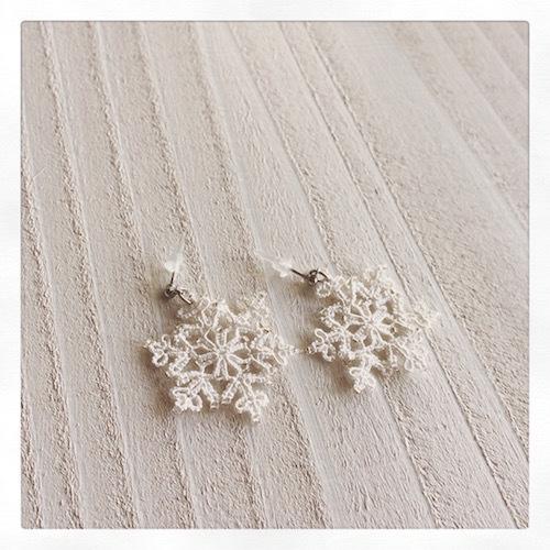 クリスマスプレゼントに雪の結晶が届きました☆_f0089355_00011526.jpg