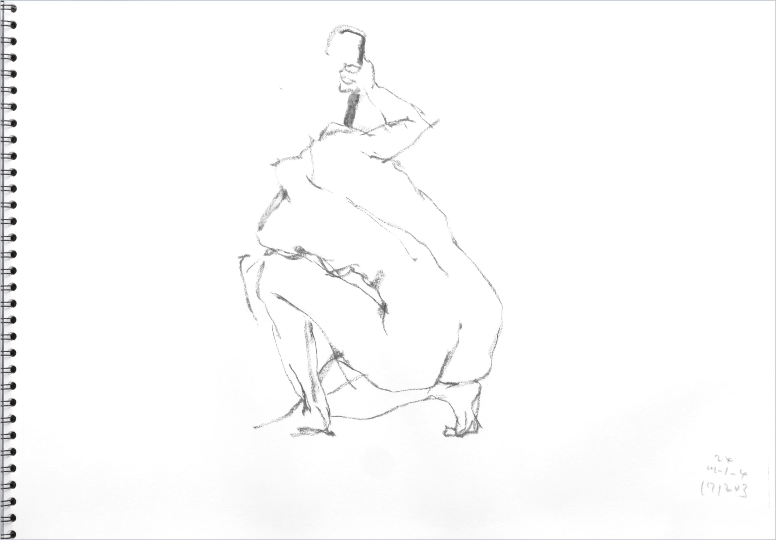 《 師走十二月の ― croquis・drawing・dessin・sketch・esquisse ― 10》_f0159856_06392434.jpg