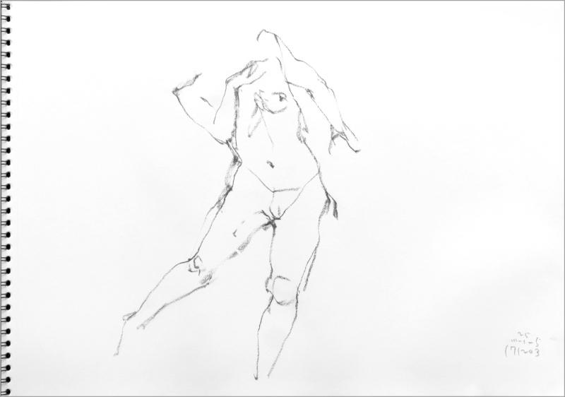 《 師走十二月の ― croquis・drawing・dessin・sketch・esquisse ― 10》_f0159856_06403336.jpg