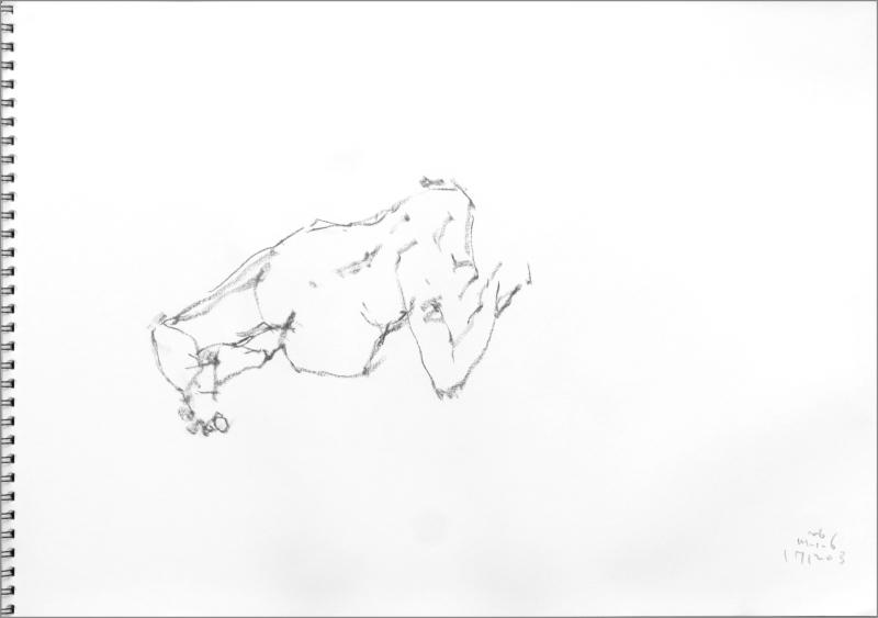 《 師走十二月の ― croquis・drawing・dessin・sketch・esquisse ― 10》_f0159856_06415455.jpg
