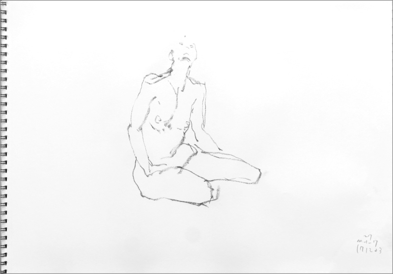 《 師走十二月の ― croquis・drawing・dessin・sketch・esquisse ― 10》_f0159856_06423373.jpg