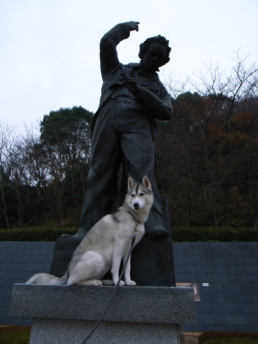 First Pilgrimage for Siberian Husky Hana II  Dec.22nd, 23rd, 24th, 25th, 26th, and 27th 2006_c0049299_19520106.jpg