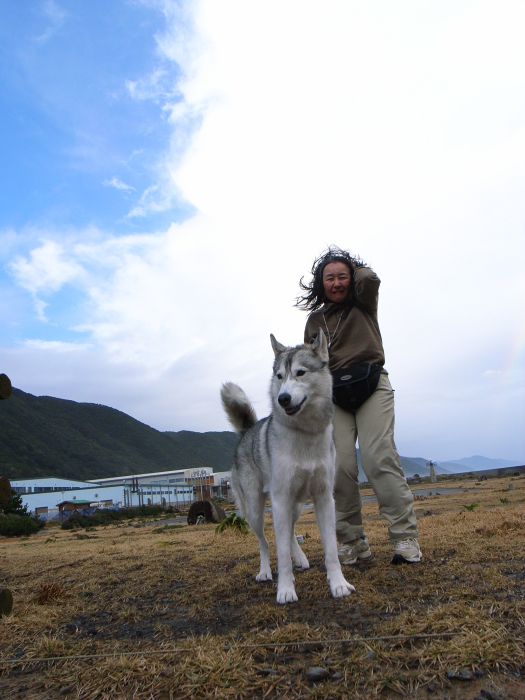 First Pilgrimage for Siberian Husky Hana II  Dec.22nd, 23rd, 24th, 25th, 26th, and 27th 2006_c0049299_19554897.jpg