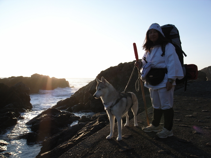 First Pilgrimage for Siberian Husky Hana II  Dec.22nd, 23rd, 24th, 25th, 26th, and 27th 2006_c0049299_21063126.jpg